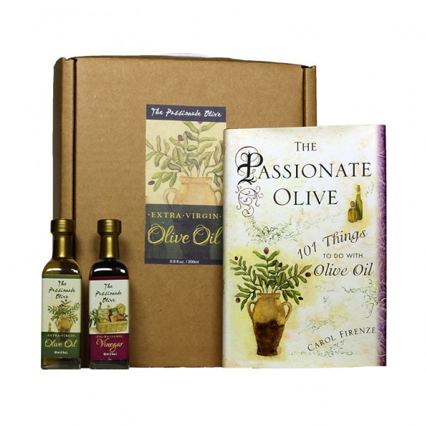 Book and Olive Oil Gift Set