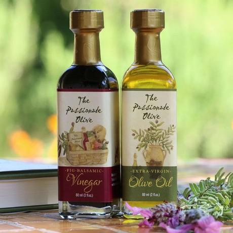 Extra Virgin Olive Oil & Fig Balsamic Vinegar