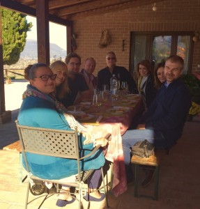 Lunch at Romanelli Farm