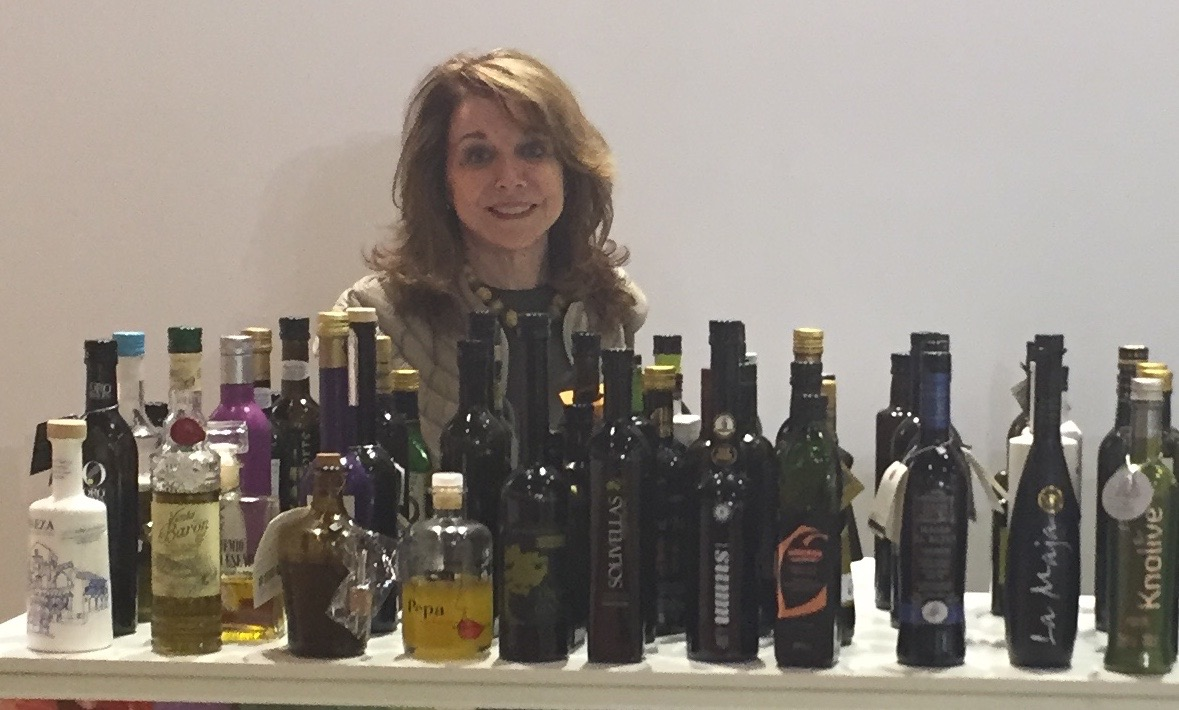 The Olive Bar at the Alimentaria tradeshow in Barcelona