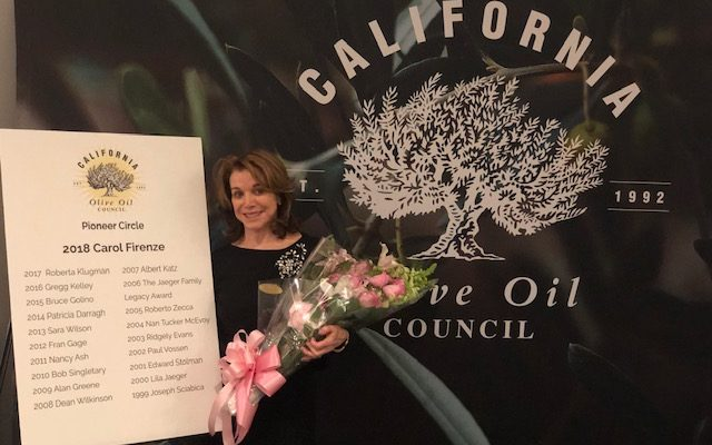 Carol Firenze Receives COOC Pioneer Award